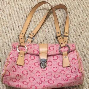 Guess pink purse